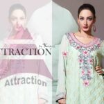 Kamal Party Dresses Collection 2013 By Attraction 001