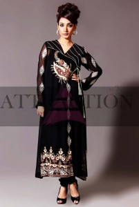 Kamal Party Dresses Collection 2013 By Attraction 003