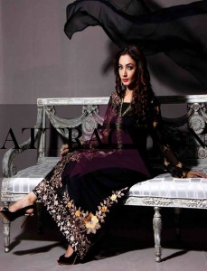 Kamal Party Dresses Collection 2013 By Attraction 006