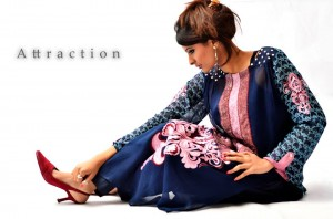 Kamal Party Dresses Collection 2013 By Attraction 008
