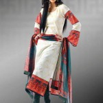 Latest Popular Cambric Dresses Collection 2013 004