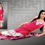 Latest Popular Cambric Dresses Collection 2013 005
