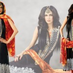 Latest Popular Cambric Dresses Collection 2013 007