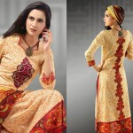 Latest Popular Cambric Dresses Collection 2013 009