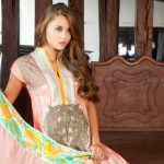 Latest Republic Stylish Embroidered Dress Lawn Prints 2013 002