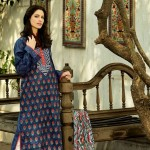 Latest Republic Stylish Embroidered Dress Lawn Prints 2013 004