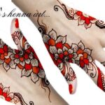 Latest & Stylish Heena Mehndi Designs By Uroos For Ladies 2013