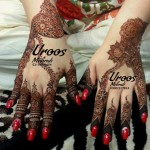 Latest & Stylish Heena Mehndi Designs By Uroos For Ladies 2013 3