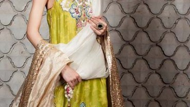 Maram & Aabroo New Bridal Wear Latest Dress Collection 2013 001