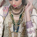 Maram & Aabroo New Bridal Wear Latest Dress Collection 2013 003