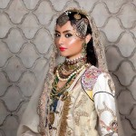 Maram & Aabroo New Bridal Wear Latest Dress Collection 2013 005