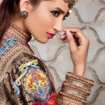 Maram & Aabroo New Bridal Wear Latest Dress Collection 2013 006