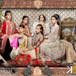 Maram & Aabroo New Bridal Wear Latest Dress Collection 2013 007