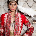 Maram & Aabroo New Bridal Wear Latest Dress Collection 2013 008