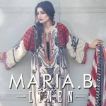 Maria.B Winter Linen Dresses Collection 2013 For Women 004
