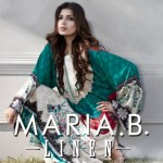 Maria.B Winter Linen Dresses Collection 2013 For Women 005