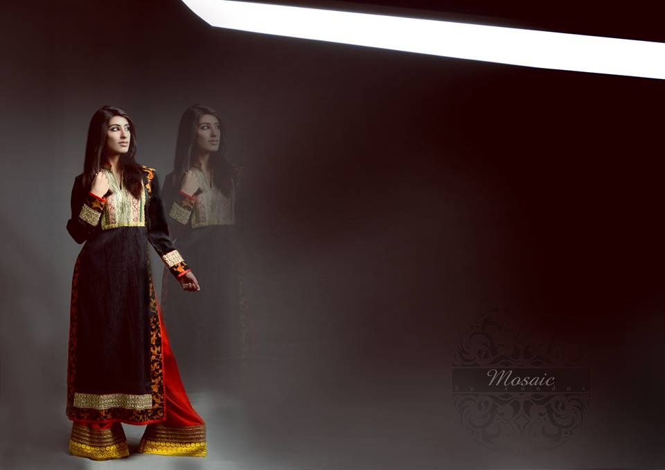 Mosaic by Sundas Women Eid-ul-Adha Dresses Collection 2013 006
