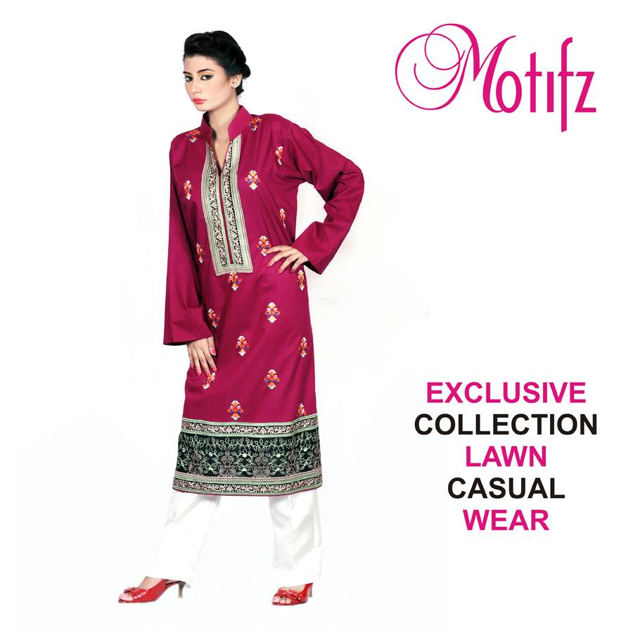 Motifz Women Exclusive Casual Wear Collection 2013