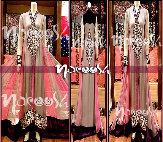 Nakoosh Beautifull Semi- Formal Wear Dresses Collection For Women