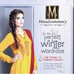 New Beautiful Winter Collection For Women by Mausummery 2
