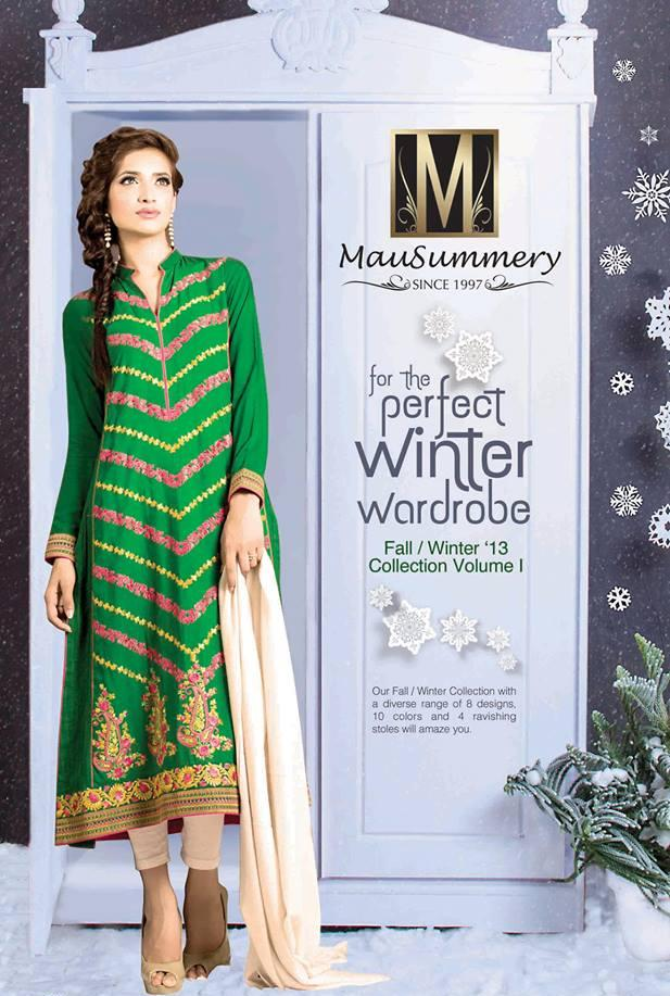 New Beautiful Winter Collection For Women by Mausummery 3