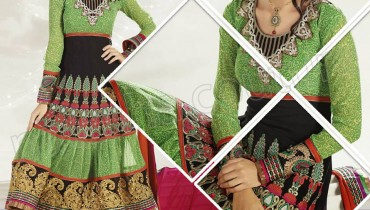 Raveena Tandon In Natasha Couture Anarkali Suits Collection 2013 001
