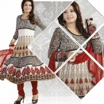 Raveena Tandon In Natasha Couture Anarkali Suits Collection 2013 0010