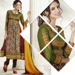 Raveena Tandon In Natasha Couture Anarkali Suits Collection 2013 0011