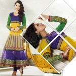 Raveena Tandon In Natasha Couture Anarkali Suits Collection 2013 0012