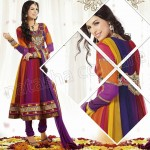 Raveena Tandon In Natasha Couture Anarkali Suits Collection 2013 002