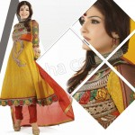 Raveena Tandon In Natasha Couture Anarkali Suits Collection 2013 005