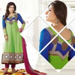 Raveena Tandon In Natasha Couture Anarkali Suits Collection 2013 007