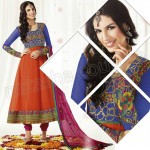 Raveena Tandon In Natasha Couture Anarkali Suits Collection 2013 008