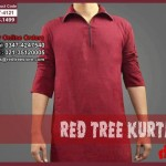 Red Tree Elegant Casual kurta Latest Collection 2013 For Men 004