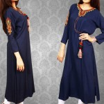 Red Tree Kurties Latest Dresses Women Collection 2013 001