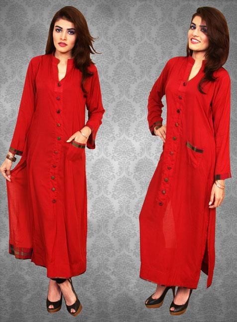 Red Tree Kurties Latest Dresses Women Collection 2013 003