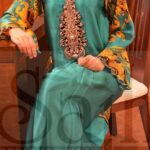 Sajh Eid Winter Dress Beautiful Collection 2013-2014For Women (1)
