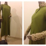 Zaheer Abbas Women Winter Long Party Outfits Collection 2013 003