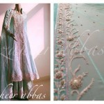 Zaheer Abbas Women Winter Long Party Outfits Collection 2013 005