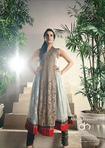 Ahsan Hussain Couture Formal Wear Frocks Dresses 2013 002