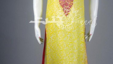 Chunnat Girls Party Wear Dresses Collection 2013 001