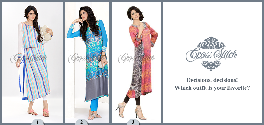 Cross Stitch Ready To Wear Dresses Collection 2013 For Women 2