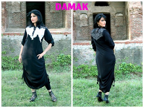 Damak Latest Winter Dress New Collection 2013-14 For Women (5)