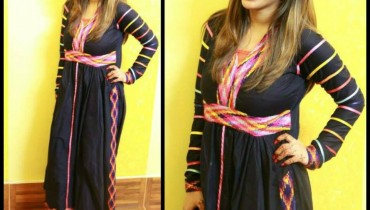 Desi Beads Winter Outfits Dresses Collection 2013 For Women