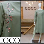 Embroidered Winter Pakistani Fashion Dresses 2013 for Women by Coco 002