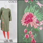 Embroidered Winter Pakistani Fashion Dresses 2013 for Women by Coco 004