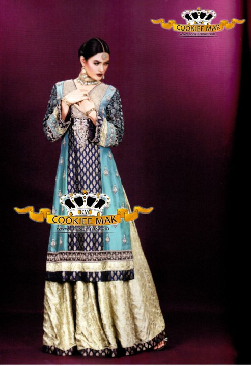 Fashion Week Cookiee Mak Bridal Wear Dresses Collection 2013-14 009
