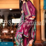 Gul Ahmed Latest Winter Dress Collection 2013-2014 Volume 2 for Women (4)