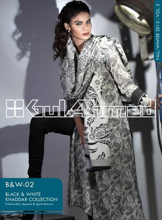 Gul Ahmed Latest Winter Dress Collection 2013-2014 Volume 2 for Women (8)