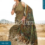 Gul Ahmed Winter Linen Collection 2013-14 for Women 1